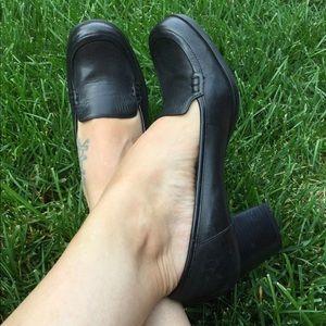 Nine West,Black Leather Upper. Size 6.5